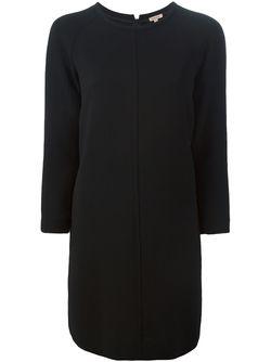 Платье Шифт Свободного Кроя P.A.R.O.S.H.                                                                                                              чёрный цвет