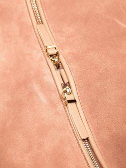 Сумка-Седло The Row                                                                                                              розовый цвет