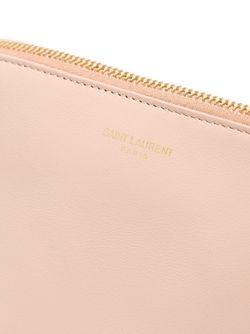 Клатч Paris Saint Laurent                                                                                                              розовый цвет