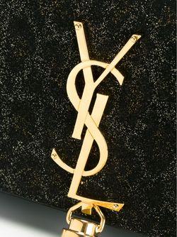 Маленькая Сумка-Сэтчел Monogram Saint Laurent                                                                                                              чёрный цвет