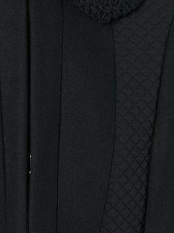 Двухцветное Пальто С Широкими Рукавами Missoni                                                                                                              чёрный цвет