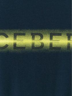 Футболка С Принтом Логотипа ICEBERG                                                                                                              синий цвет