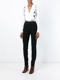 Блузка C V-Образным Вырезом ICEBERG                                                                                                              белый цвет