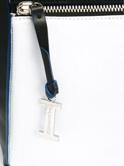 Сумка-Тоут С Контрастными Ручками ICEBERG                                                                                                              черный цвет