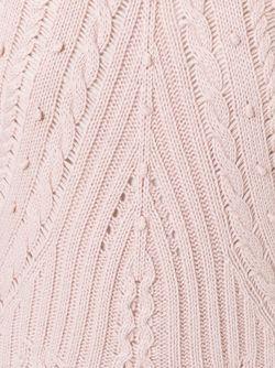 Вязаное Платье Red Valentino                                                                                                              розовый цвет