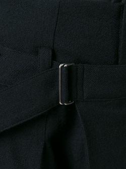 Широкие Брюки С Поясом Yohji Yamamoto                                                                                                              чёрный цвет