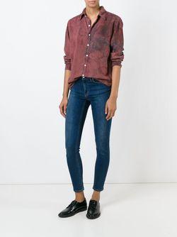 Рубашка С Узором Tie-Dye Nsf                                                                                                              розовый цвет