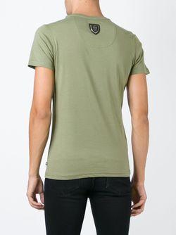 Футболка Rough Philipp Plein                                                                                                              зелёный цвет