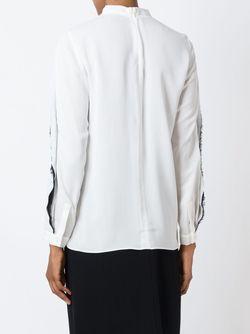 Блузка С Контрастными Деталями 3.1 Phillip Lim                                                                                                              белый цвет