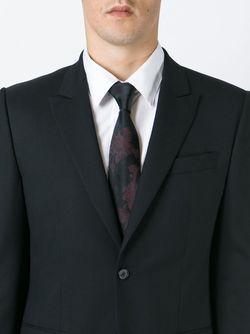 Галстук С Цветочным Узором Dolce & Gabbana                                                                                                              черный цвет