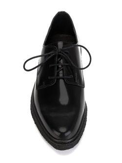 Туфли Дерби С Заостренным Носком Opening Ceremony                                                                                                              черный цвет