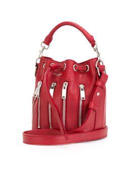 Сумка-Мешок Emmanuelle Saint Laurent                                                                                                              красный цвет