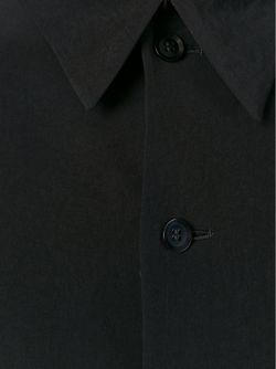 Пальто В Стиле Кейп Yohji Yamamoto                                                                                                              черный цвет