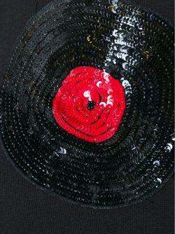 Толстовка С Аппликацией Пластинки С Пайетками Au Jour Le Jour                                                                                                              чёрный цвет