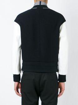 Университетска Куртка На Молнии Neil Barrett                                                                                                              черный цвет