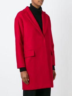 Однобортное Пальто L' Autre Chose                                                                                                              красный цвет