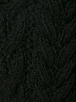 Трикотажные Шорты Вязки Косичка Vera Wang                                                                                                              чёрный цвет