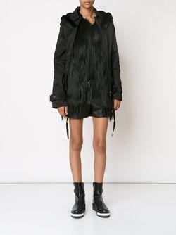 Пуховик С Меховой Оторочкой Vera Wang                                                                                                              черный цвет