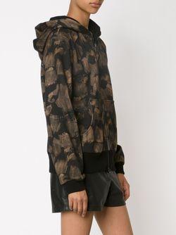 Poppy Print Sweatshirt Vera Wang                                                                                                              черный цвет