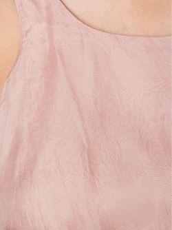 Belted Tank LOUIZA BABOURYAN                                                                                                              розовый цвет