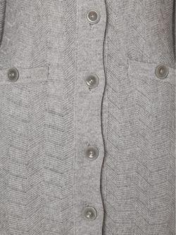 Удлиненный Кардиган L'Agence                                                                                                              серый цвет