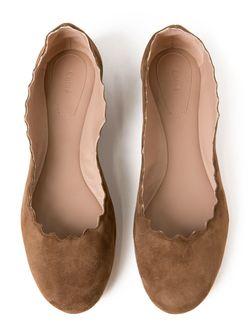 Балетки Lauren Chloe                                                                                                              коричневый цвет