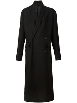 Удлиненное Пальто Haider Ackermann                                                                                                              черный цвет