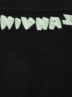 Свитер С Вышивкой Lanvin                                                                                                              черный цвет