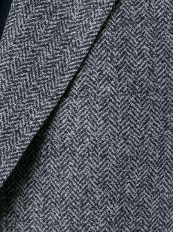 Блейзер В Ломаную Клетку Brunello Cucinelli                                                                                                              серый цвет