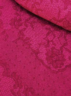 Жаккардовый Шарф С Кружевным Узором Valentino                                                                                                              розовый цвет