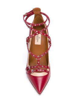 Туфли Love Latch Valentino Garavani                                                                                                              красный цвет