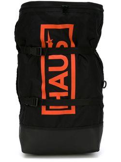 Рюкзак С Логотипом HAUS                                                                                                              чёрный цвет