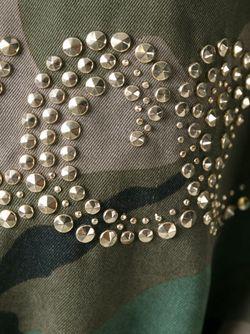 Парка С Камуфляжным Принтом Valentino                                                                                                              зелёный цвет