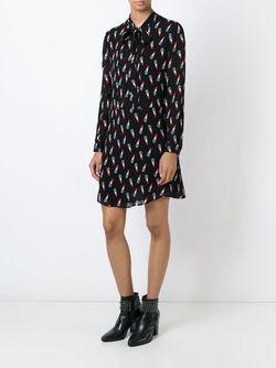Платье-Блузка Lavaliere Saint Laurent                                                                                                              чёрный цвет