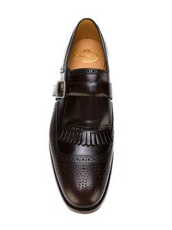 Туфли Броги Shanghai Rois Church'S                                                                                                              коричневый цвет