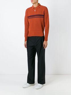Рубашка-Поло Свободной Вязки Jil Sander                                                                                                              желтый цвет