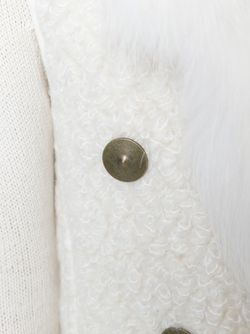 Пальто Без Рукавов Vionnet                                                                                                              белый цвет