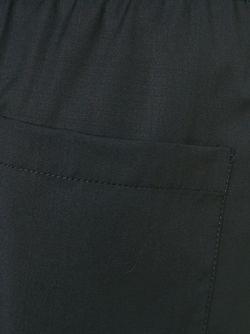 Двухцветные Спортивные Брюки 3.1 Phillip Lim                                                                                                              черный цвет