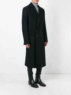 Long Coat Ann Demeulemeester                                                                                                              чёрный цвет