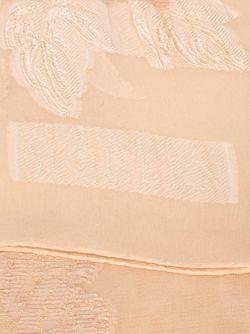 Шарф С Фактурным Цветочным Узором Alexander McQueen                                                                                                              Nude & Neutrals цвет