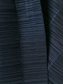 Плиссированный Топ На Пуговицах PLEATS PLEASE BY ISSEY MIYAKE                                                                                                              синий цвет