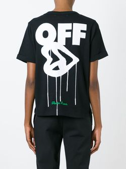 Футболка Dazed Still Confused OFF-WHITE                                                                                                              чёрный цвет
