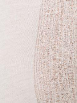 Футболка С Прозрачной Панелью Raquel Allegra                                                                                                              белый цвет
