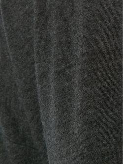 Футболка С Прозрачной Панелью Raquel Allegra                                                                                                              серый цвет