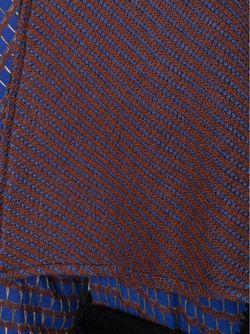 Кардиган С Поясом И Лоскутным Узором Etro                                                                                                              синий цвет