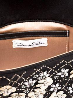Клатч С Вышивкой Oscar de la Renta                                                                                                              черный цвет