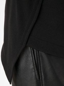 Асимметричная Толстовка COMME DES GARCONS HOMME PLUS                                                                                                              черный цвет