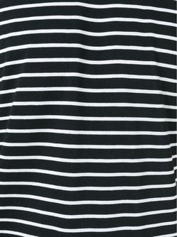 Striped T-Shirt Saint Laurent                                                                                                              чёрный цвет