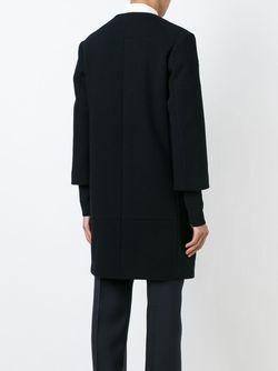 Однобортное Пальто Jil Sander                                                                                                              черный цвет