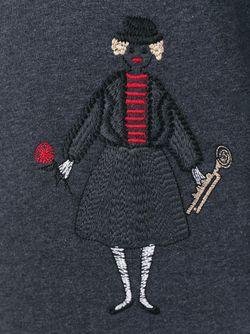 Толстовка С Вышивкой Red Valentino                                                                                                              серый цвет
